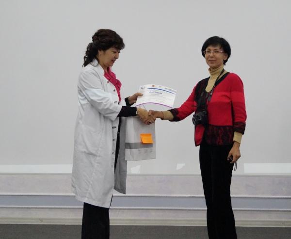 """Результаты конкурса: """"Вместе против рака"""" среди журналистов казахстанских СМИ."""